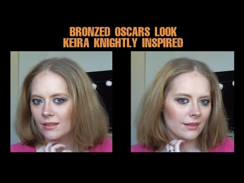 Bronzed Oscars Look - Keira Knightly inspired