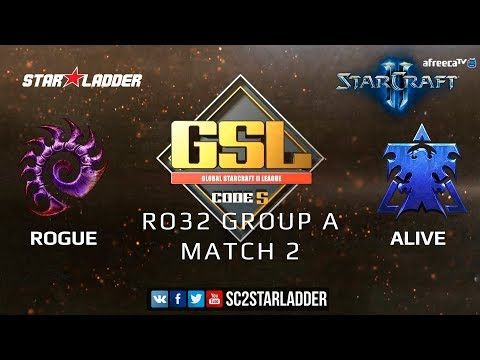 2019 GSL Season 3 Ro32 Group A Match 2: Rogue (Z) vs aLive (T)