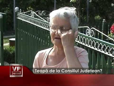 Ţeapă de la Consiliul Județean?