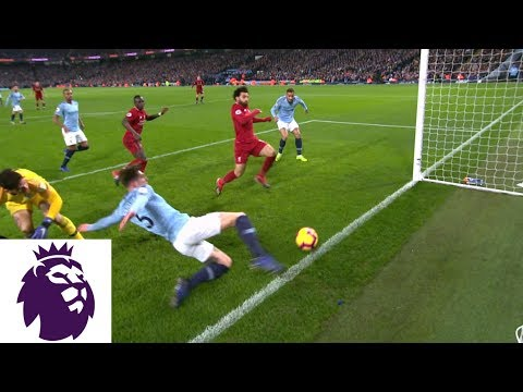 Liverpool Centimeters Away From Taking Lead Against Man City | Premier League | NBC Sports