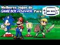 Os 25 Melhores Jogos De Game Boy Advance Para O My Boy