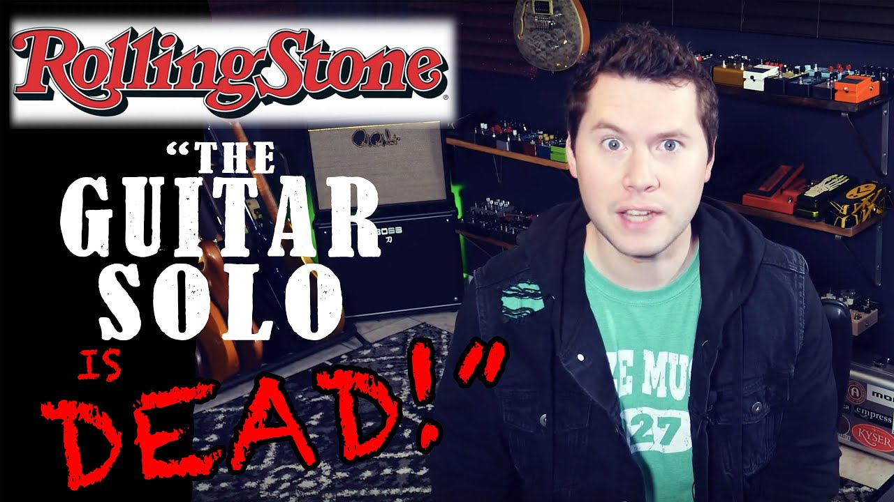 Is the Guitar Solo Finished? (Rolling Stone article reaction)