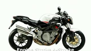 10. 2007 MV Agusta Brutale 910R  Specs Transmission Features Engine Specification Details - tarohan