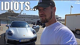 IDIOTS TAKEOVER MONACO | SUPERCARS & SUPER YACHTS! by Supercars of London