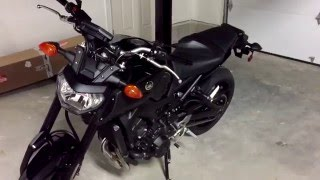 9. MY NEW MOTORCYCLE! [2016 YAMAHA FZ-09 RAVEN]