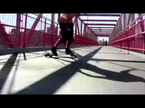 Bustin Maestro Longboard  - Longboarding NYC (1 of 3)