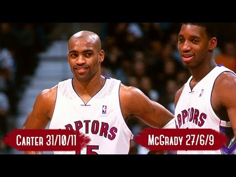 Cleveland Cavaliers vs Toronto Raptors - Game Highlights | Apr 10, 2000 | Carter 31, McGrady 27 HD