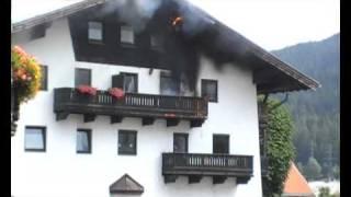 Gotzens Austria  City pictures : Freiwillige Feuerwehr Götzens - Einsatzvideo 14.07.2009