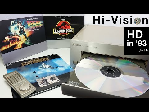 Hi-Vision Laserdisc - HD In '93 (Part 1)