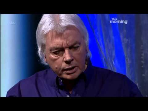 this morning - David Icke talks about the world being a hologram and how prominent figures like the royal family control us on This Morning 14th March 2013.