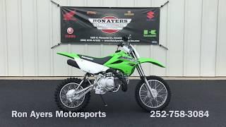 7. 2019 Kawasaki KLX 110L