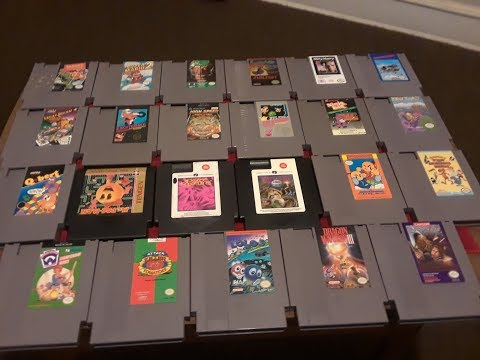 Flea Market - Garage Sales Nintendo Nes Finds Summer 2018 Results