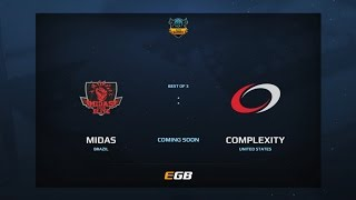 Midas Club vs compLexity, Game 3, Dota Summit 7, AM Qualifier