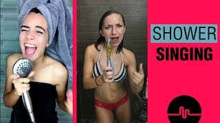 Video Shower Singing vs Singin Girl Challenge Musical.ly MP3, 3GP, MP4, WEBM, AVI, FLV Mei 2018