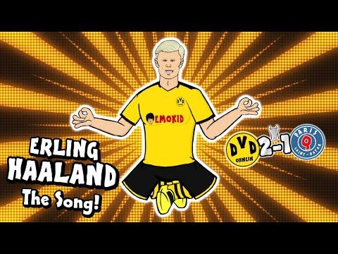 💥Erling Haaland - the song!💥 (Dortmund vs PSG Parody Champions League Highlights Håland Wonder Goal)