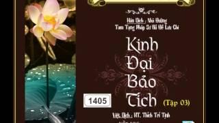 25/37, Pháp hội: Bồ Tát Tạng (tt) (HQ) | Kinh Đại Bảo Tích tập 03
