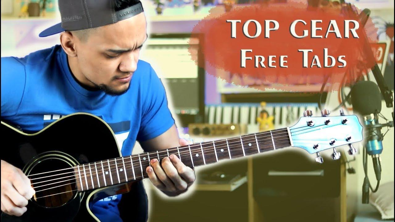 Top Gear Theme – Acoustic Guitar Cover ( Tabs in Description )Top gear versão acústica