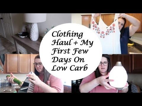 Low carb diet - My First Days on Low Carb