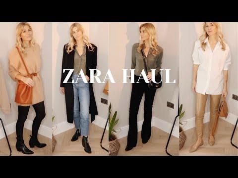 ZARA HAUL | Autumn Winter LOOKBOOK 2020 | Fashion and Style Edit видео
