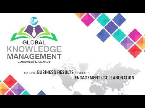 Global Knowledge Management Congress & Awards 2016 - DR. HELEN PAIGE