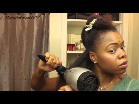 How to Blowout Your Natural Hair – Pt. 1 of Natural Hair Straightening Series