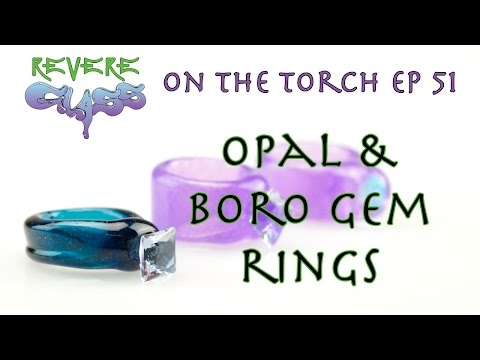 Gemstone Rings with FishMan Glass (Fixed Audio) || REVERE GLASS ||
