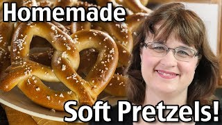 Homemade Soft Pretzels Recipe - How To Make Soft Pretzels