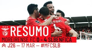 Video HIGHLIGHTS: Moreirense FC 0-4 SL Benfica MP3, 3GP, MP4, WEBM, AVI, FLV Agustus 2019