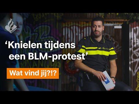'De politie mag knielen tijdens een BLM-protest' - Wat vind jij ?!?