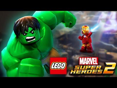 ХАЛКИ НА АРЕНЕ | LEGO MARVEL SUPER HEROES 2 | Часть 10 | детский летсплей от канал ЖЕСТЯНКА