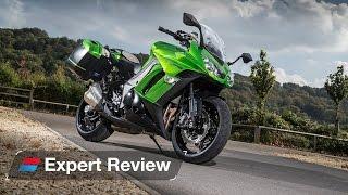 10. 2014 Kawasaki Z1000SX Tourer bike review