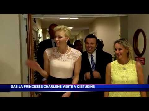 A Qietüdine : visite de la Princesse Charlène