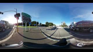 Hill Street Intersection 360 Timelapse