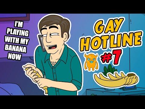 Gay Hotline Prank Compilation #7 - Ownage Pranks (видео)