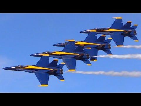 2017 Blue Angels NAF El Centro Air Show (видео)