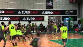 Lucas Nogueira adidas EuroCamp highlights