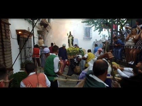 Espectacular y colorida Fiesta de moros y cristianos de Benalauría 2019