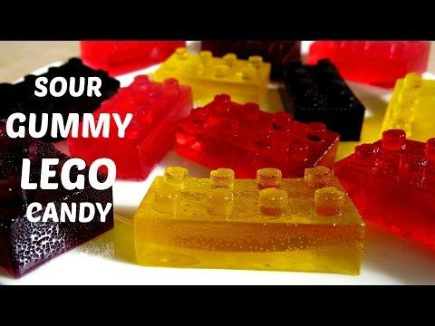 come preparare caramelle gommose a forma di lego