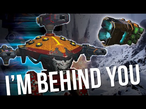 War Robots - Phantom Gameplay Using Epic Blinking Ability And Phase Shift To Trick The Enemy