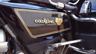 6. 1986 Goldwing 1200 Interstate - Sold