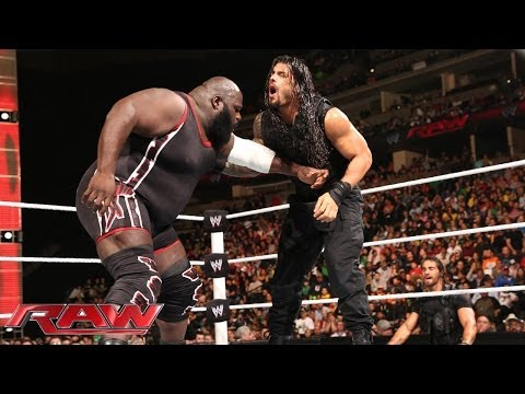 Feb. 17, 2014, Mark Henry vs. Roman Reigns: Raw