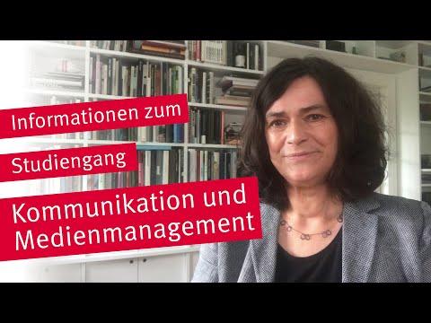 Vorstellung des Studiengangs Kommunikation und Medienmanagement