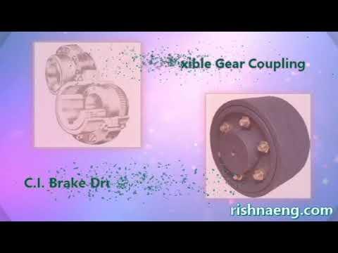 Gear Coupling, Break Drum Geared Coupling