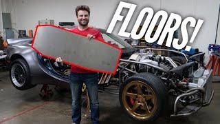 AWD 4 Rotor RX-7 has Floors! I took long enough. by Rob Dahm