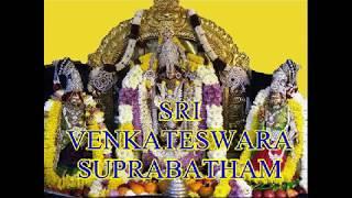 SRI VENKATESWARA SUPRABATHAM COMPLETE By MS Subbulaxmi