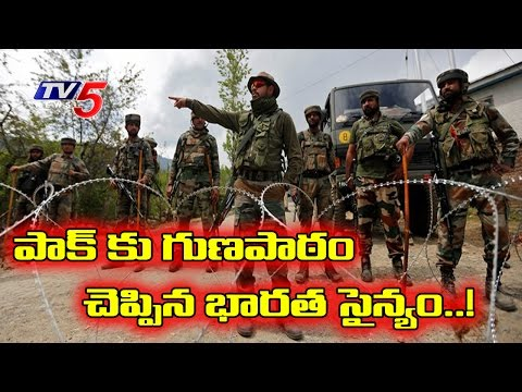 Indian Army Demolishes Pakistani Posts in Naushera Sector of J&K