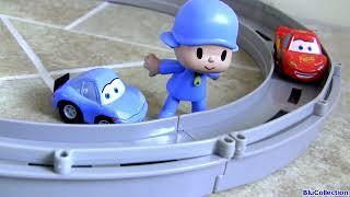 Video Disney Pixar Cars Race and Chase Motorized Track MP3, 3GP, MP4, WEBM, AVI, FLV September 2018