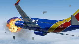 Video Terrifying Moments as Engine Explodes at 33,000ft | Uncontained Failure | Southwest Airlines 1380 MP3, 3GP, MP4, WEBM, AVI, FLV Maret 2019