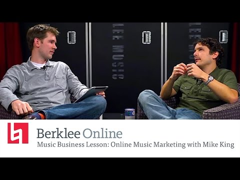 Mike King - Online Musik Marketing - Berkleemusic Open House