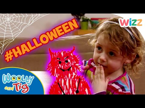 Woolly and Tig - #Halloween Season | Scary Monsters | Full Episodes | Toy Spider | Wizz